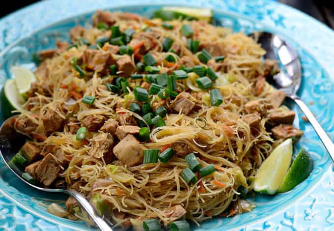 Pancit On The Ambers Menu In Philippines