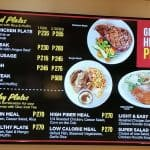 Kenny Rogers Grilled And Healthy Plate Dishes