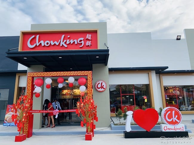 One Of The First Chowking Stores With Drive Thru