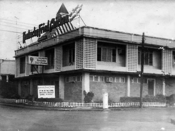 One Of The First Kfc In Philippines