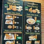 Pizza Meals, Pasta Chicken Combos, And Value Meals Greenwich Menu