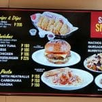 Savory Snacks And Sandwiches Kenny Rogers Menu Board