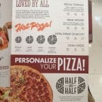 Shakeys Menu Philippines Personlised Pizza Menu