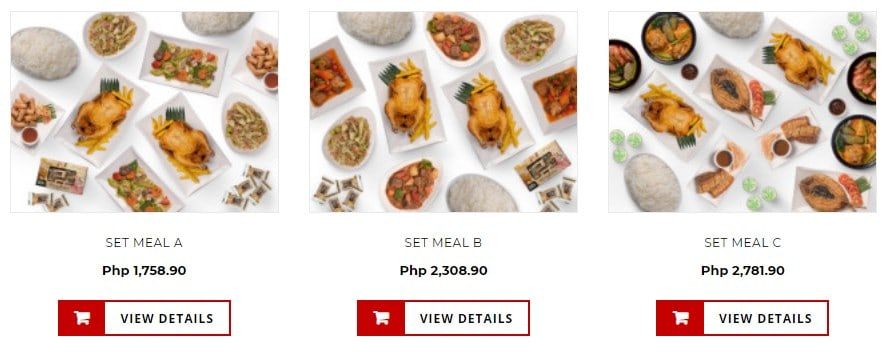 Group Meals Available On Max's Menu