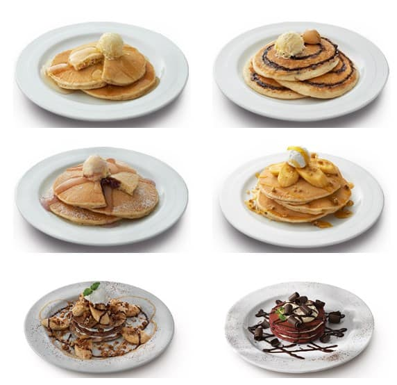 Tasty Pancakes On The Pancake House Menu